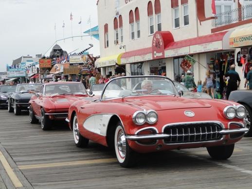 The Jersey Cape Corvette Show In Ocean City NJ - Ocean city car show 2018