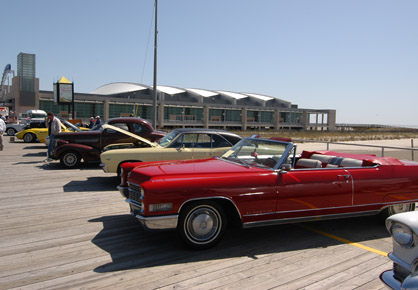The Jersey Cape Spring Boardwalk Classic Car Show - Wildwood car show