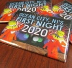 Ocean City First Night Admission Buttons on Sale